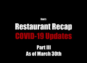 COVID-19 Updates *As of March 30th*