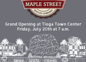 Maple Street Biscuit Company to open in Town of Tioga on August 1st *DATE CHANGE*