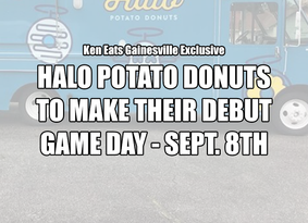 Halo Potato Donuts to Debut Sept 8th