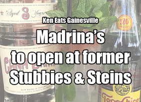 Madrina's to open in former Stubbies & Steins