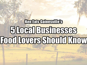 5 Local Businesses Every Food Lover Should Know