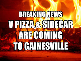 V Pizza & Sidecar opening in Gainesville