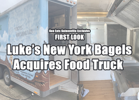 FIRST LOOK: Luke's New York Bagels Acquires Food Trailer