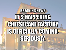 Cheesecake Factory Officially Opening in Gainesville