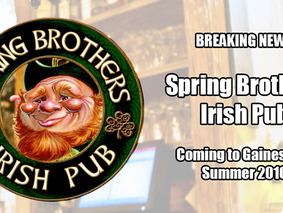 Spring Brothers Irish Pub is coming to Gainesville