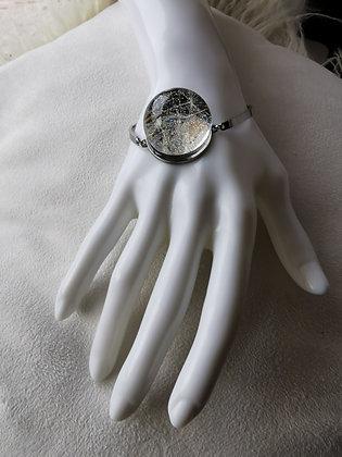 Armband med maskrosfröna (Ställbar)