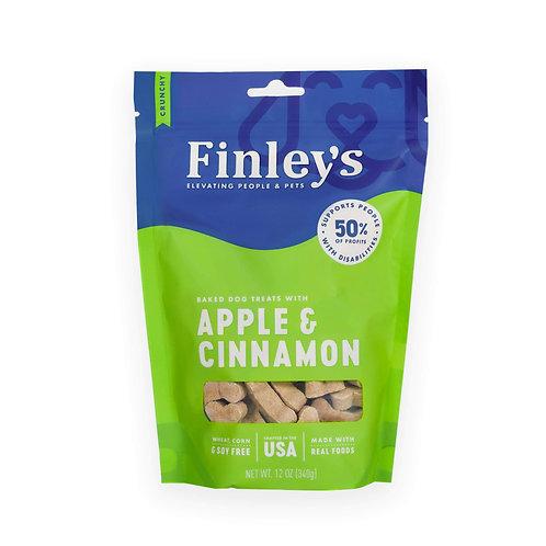 12 oz Finley's Barkery Apple & Cinnamon Biscuit