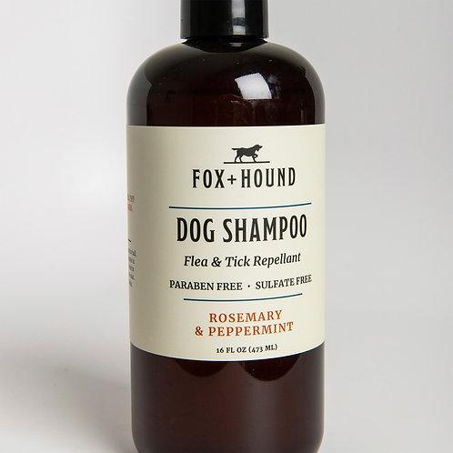 ROSEMARY PEPPERMINT DOG SHAMPOO + CONDITIONER