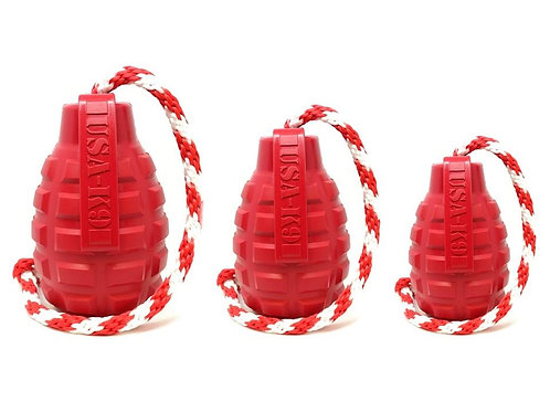 USA-K9  DURABLE RUBBER CHEW TOY