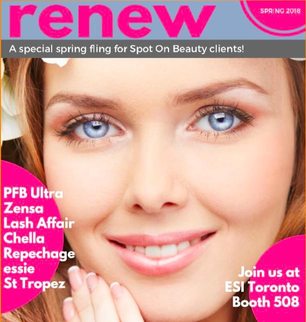 Spot On Beauty digital brochure