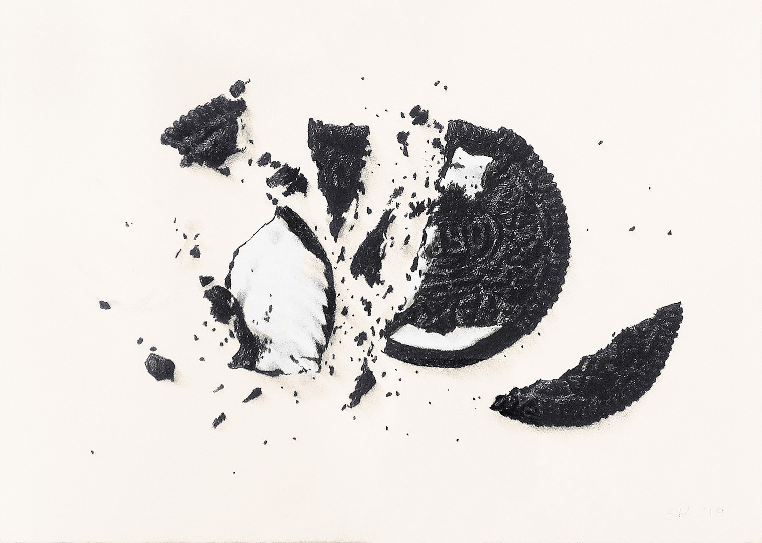 Cracked Oreo No.96