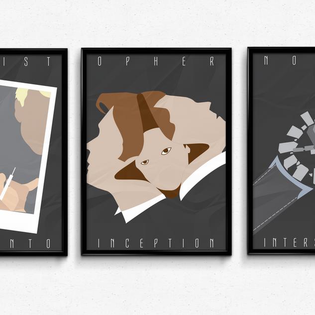 Christopher Nolan Triptych