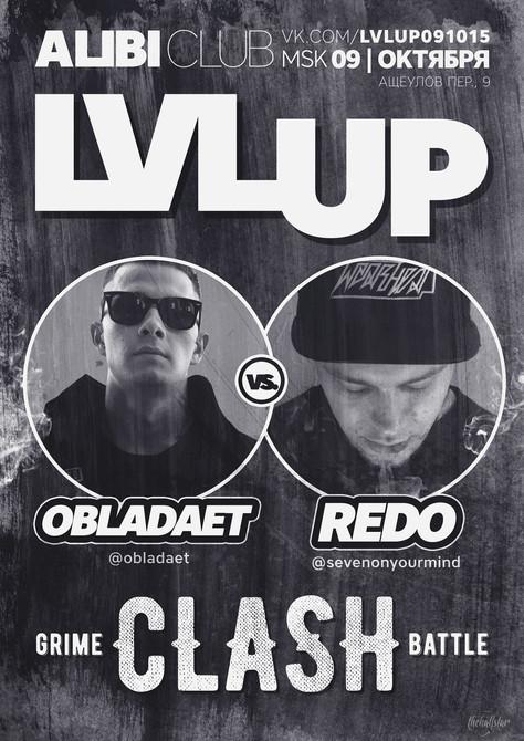OBLADAET VS REDO. GRIME CLASH.