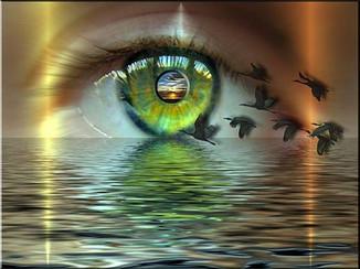 Какой свет идет из ваших глаз?