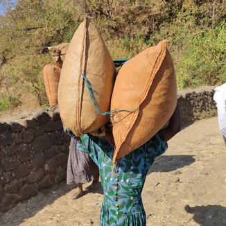 Рыночный день в Эфиопии