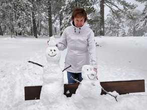 Олимп в снегу