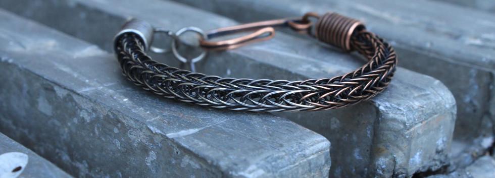 Men's Bracelet- Copper and Silver.jpg