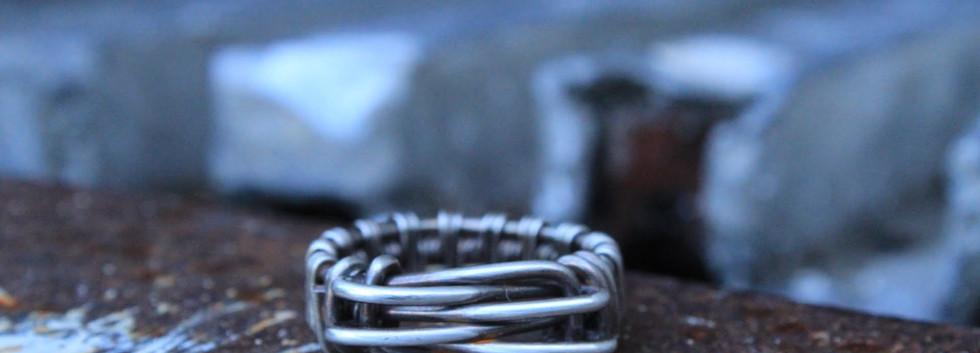 Men's Renegade Ring- Silver