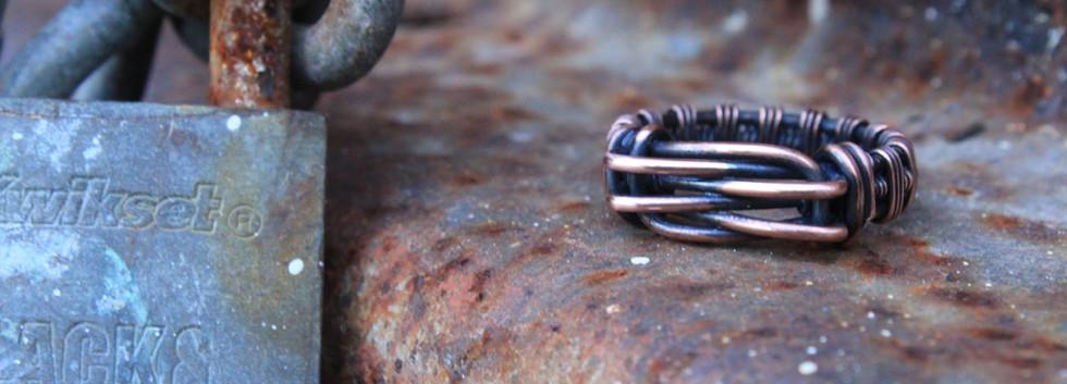 Men's Renegade Ring- Copper