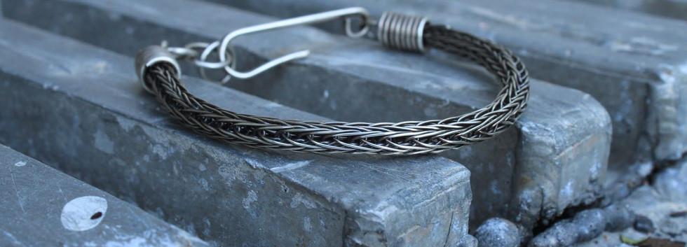 Men's Renegade Bracelet- Silver