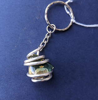 Gemstone Key ring, made locally
