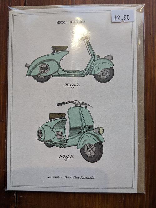 Greetings Card, vintage feel