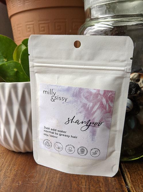 Plastic-free Vegan shampoo, 500ml