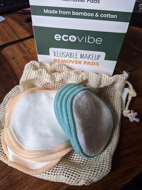 Reusable makeup remover pads