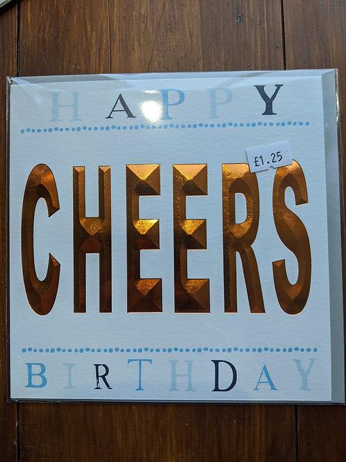 Greetings Card, Happy Birthday