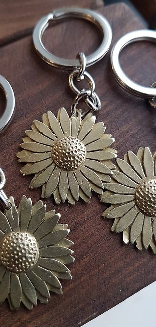 Sunflower Keyrings