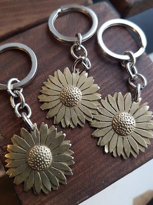 Sunflower Keyrings