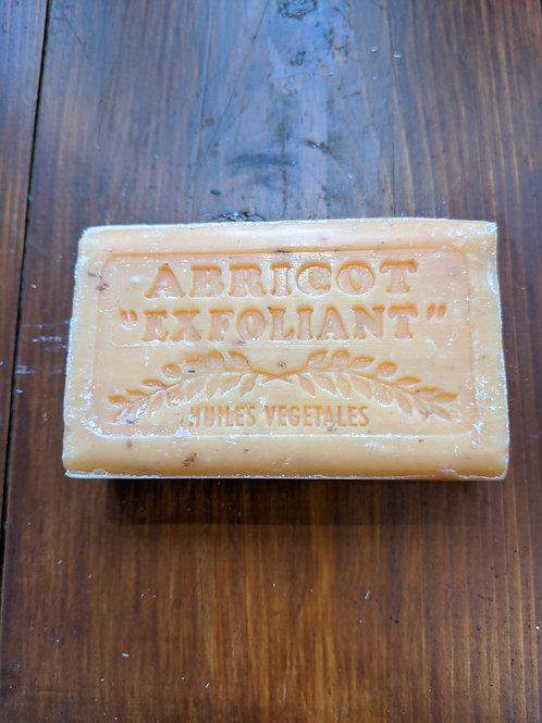 Traditional Marseilles Soap Apricot Exfoliante