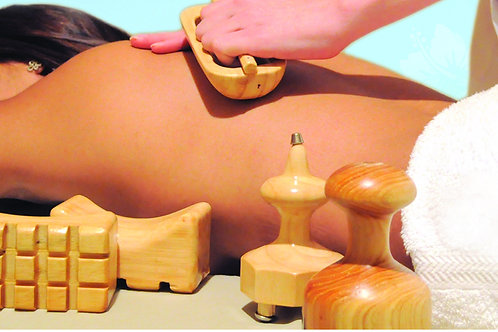 Full Body Wood Therapy Massage