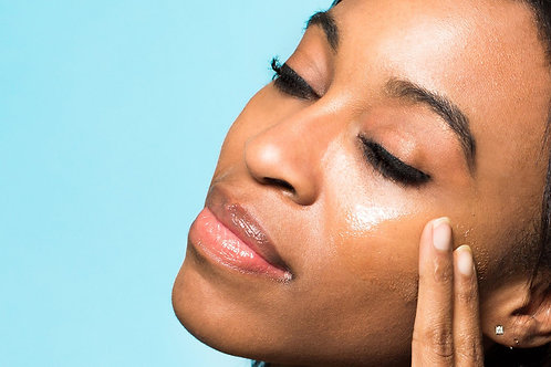 Quick and easy Glycolic resurfacing and enzyme hydrating face lift