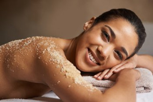 Full Body Microdermabrasion Polish With Steaming