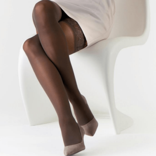 Sclerotherapy (with compression socks)
