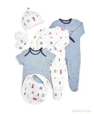 Welcome to the World - Boys Flatlay