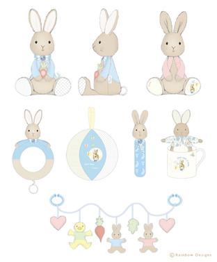 Peter Rabbit Toys