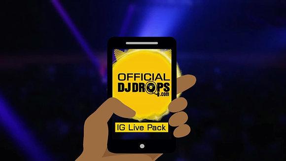 Instagram Live Pack
