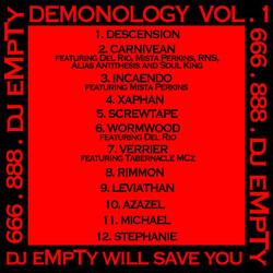 dj eMpTy Demonology vol. 1
