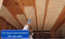 Spray Foam Insulation Attic