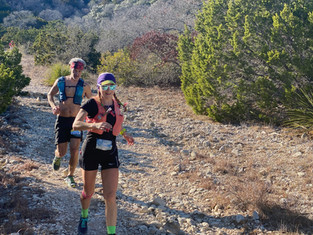 Finding my Limits at Bandera 100 km