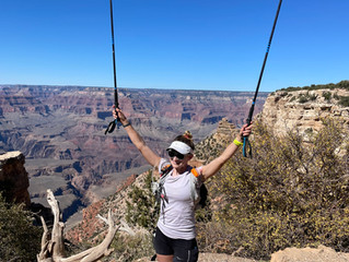 Grand Canyon Crossing FKT 2xR2R2R, Self Supported