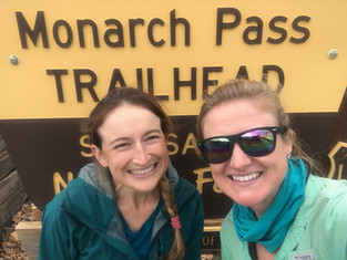 Monarch Pass to Gunnison; 50 miles with Bean!