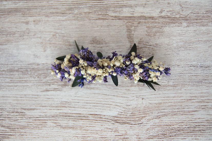Tocado flor preservada