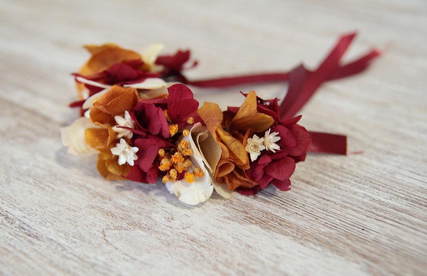 Pulsera flor preservada