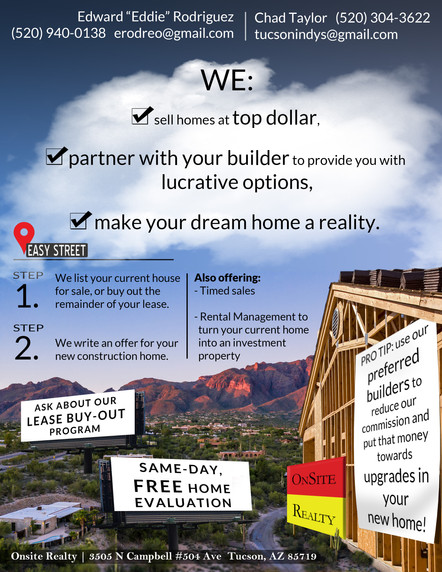 Realty One Flyer 2019