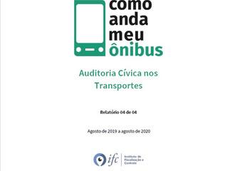"""IFC e MPDFT divulgam relatório final do projeto """"Como Anda Meu Ônibus?"""""""