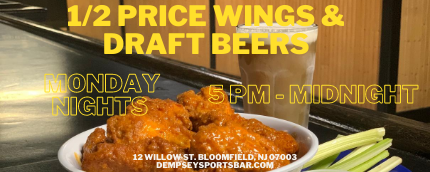 Wing and Draft Beer Event - Website (1).