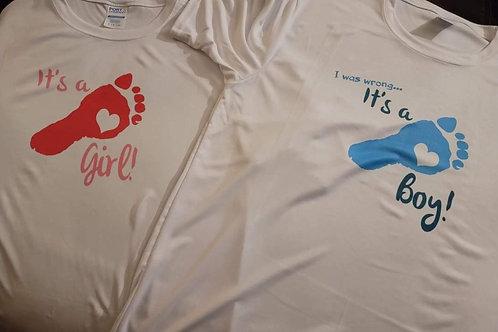 Its a boy/girl custom